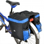 Outdoor Rainproof Multifunction Bike Luggage Carrying Bag - Black + Blue (67L)