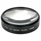 Emolux SQM6042 Close Up (+10) Lens Filter - Black (77mm)