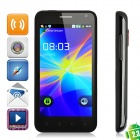 "B79 Android 2.3 WCDMA Bar Phone w/ 4.3"" Capacitive, Dual-SIM, GPS and Wi-Fi - Black"