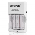 AA / AAA Battery Charger with 4 x AA Batteries / Car Charger