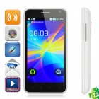 "B79 Android 2.3 WCDMA Bar Phone w/ 4.3"" Capacitive, GPS, Wi-Fi and Dual-SIM - White"