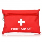 Outdoor 11-in-1 Emergency First Aid Kit Bag - Red