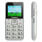 "KENKO V100++ Old Senior GSM Bar Phone w/ 2.2"" Screen, Dual-Band, Dual-SIM and FM - White"