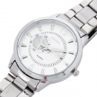 Fashion Quartz Wrist Watch for Women - Silver (1 x LR626 / 1020L)