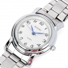 Fashion Quartz Wrist Watch for Women - Silver (1 x LR626 / 8097L)