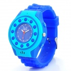 C5 GSM Wrist Watch Phone for Kids w/ Quad-Band, Single-SIM, SOS and Bluetooth - Blue