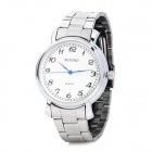Fashion Quartz Wrist Watch for Men - Silver (1 x LR626)