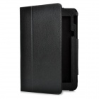Protective PU Leather Case for Toshiba AT100 - Black