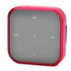 Bluedio DF-200 Clip-On Bluetooth V3.0+EDR Receiver w/ 3.5mm Jack - Red (100 Hours Standby)