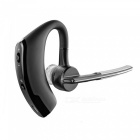 Stylish Bluetooth V2.1 Handsfree Headset w/ Swivel Microphone - Black (80 Hours-Standby)