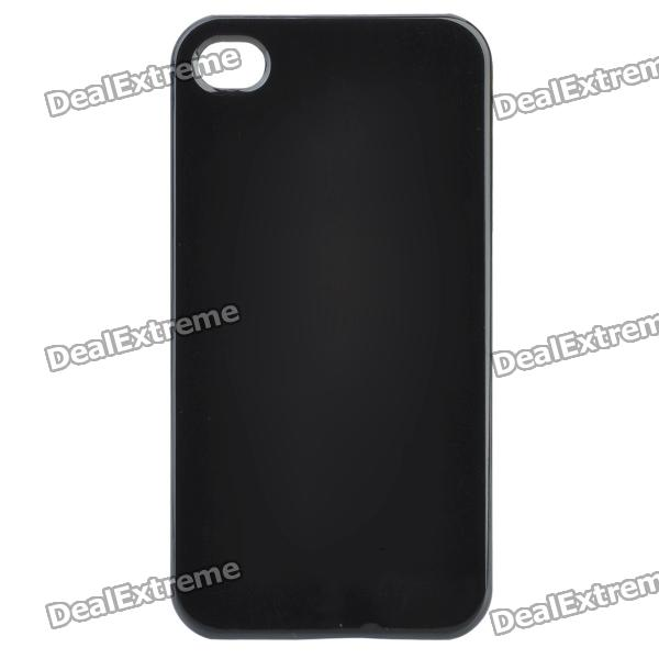 Ultra-Thin Protective Plastic Back Case for Iphone 4 / 4S - Black wc king cool man relief style protective pc back case for iphone 4 iphone 4s black