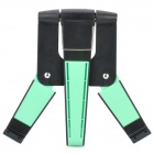 Universal Stylish Plastic Stand Holder Support for Tablet PC / Ipad / The New Ipad - Green + Black