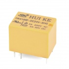 HK4100F-DC24V-SHG 6-Pin Power Relay - Amarillo (5 piezas)