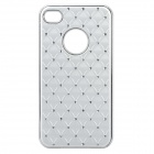 Protective CrystalPlastic Back Case for iPhone 4 / 4S - Silver