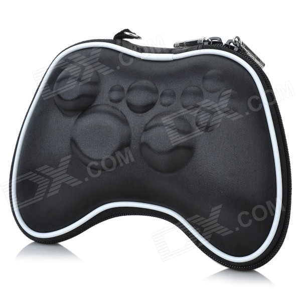 Protective Hard Nylon Pouch for Xbox 360 Wireless Controller - Black project design protective hard carrying pouch for wii remote controller silver
