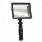 9.6W 160-LED White Light Video Lamp with Filters for Camera/Camcorder