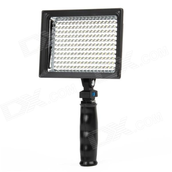 11W 187-LED White Light Video Lamp with Filters for Camera/Camcorder 15w 6000k 1050lux 6 led white light video lamp with filters for camera camcorder black
