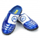 Chelsea FC Logo Pattern Soccer Slipper - Blue + White (Pair / Size 39)