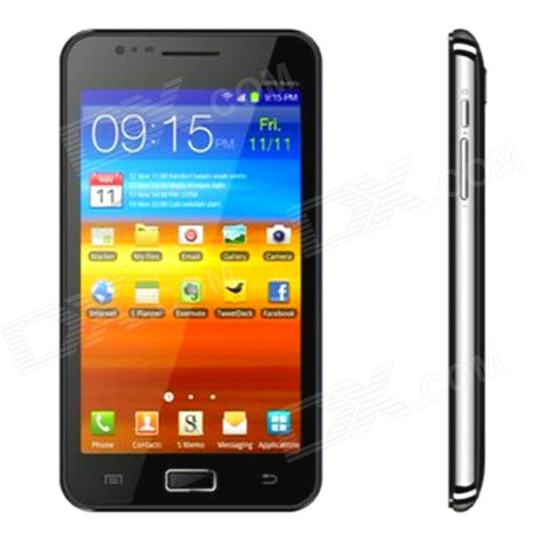"STAR i9220 Android 4.0 WCDMA Bar Phone w/ 5.0"" Capacitive, GPS, Wi-Fi and Bluetooth - Black"