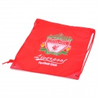 Liverpool Football Club Logo Drawstring Closure Carrying Bag - Red
