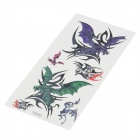 Perfumed Temporary Tattoo Sticker - Cool Flying Dragon