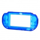 Protective Plastic Case for Sony PS Vita - Transparent Blue