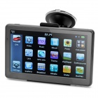"7.0"" Resistive Screen WinCE 6.0 Car GPS Navigator with FM / 4GB Europe Maps - Grey + Black"