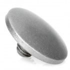 Cam-in Matte Soft Screw Shutter Release Button for Leica / Hasselblad + More - Silver Grey (Convex)