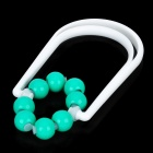 360 Degree Effective Thinning Leg Rolling Massager - White + Green
