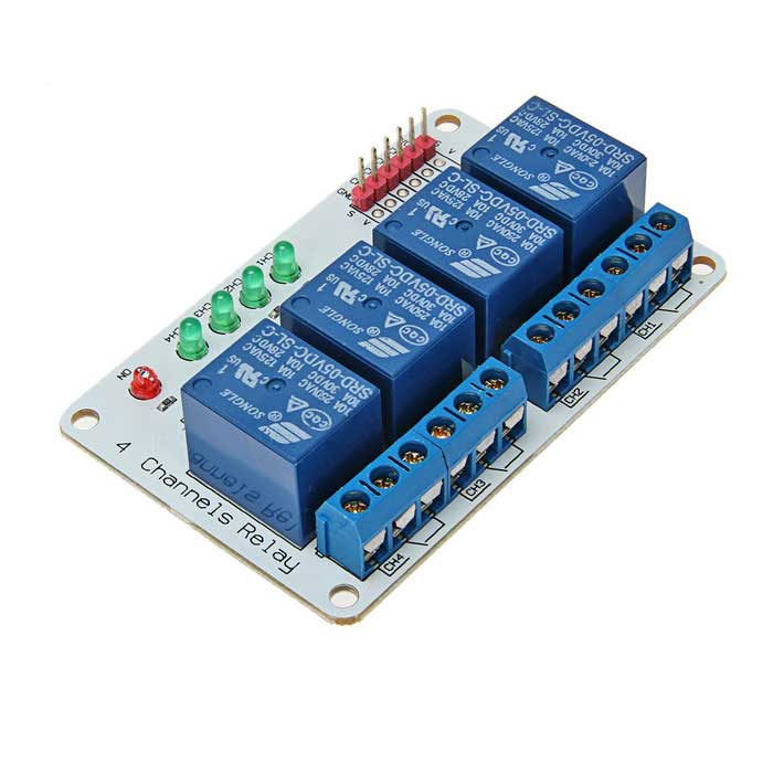 Channel v relay module expansion board for arduino