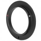 55mm Macro Reverse Adapter Ring for Olympus OM Mount - Black