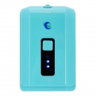 4000mAh Mobile Power Battery Charger w/ 6 Adapters for Nokia / iPhone + More - Light Blue (5V)