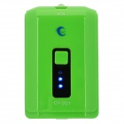 4000mAh Mobile Power Battery Charger w/ 6 Adapters for Nokia / iPhone + More - Green (5V)