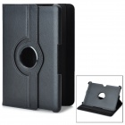 360 Degree Rotation Protective PU Leather Case for Samsung Galaxy Tab 10.1 P7500 / P7510 - Black