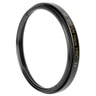 Multi-Coated UV Lens Filter - Black (52mm)