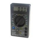 "1.8"" LCD Portable Digital Multimeter - Black (1 x 6F22/9V)"