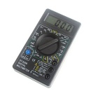 "1.8"" LCD Portable Digital Multimeter - Black (1 * 6F22/9V)"