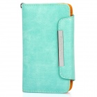 KALAIDENG Protective PU Leather Flip-Open Case for Samsung i9100 - Green