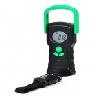 Digital Luggage Hook Scale with Temperature Function - 44kg/20g (1 x CR2032)