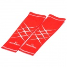 Outdoor Cycling Oversleeves - Red + White (Size L/Pair)