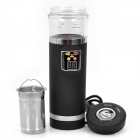 Car Based Heating Cup - Black (Cigarette Lighter Plug)