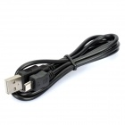 USB Male to Micro USB Male Charging Cable for HTC S720e ONE X / HTC Z520e ONE S - Black (90cm)