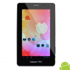 "7"" Capacitive Android 4.0 Ultra-thin Tablet w/ Dual Camera / HDMI / WiFi / TF - Black (1.5GHz / 8GB)"