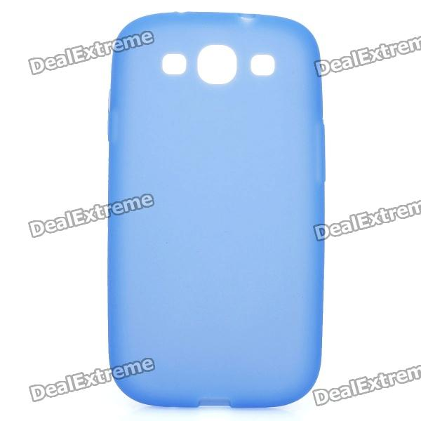Protective Silicone Case for Samsung Galaxy S3 i9300 - Blue wsb s3 samsung s3 i9300 sam896 for samsung s3 i9300