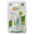 Genuine BTY Rechargeable 1.2V 8000mAh D-Type Battery