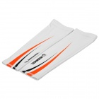 Outdoor Sports Cycling Oversleeves - White (Pair/Size-L)