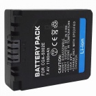 "Replacement S002/BM7 7.2V ""1400mAh"" Battery Pack for Panasonic DMC-FZ1 / DMC-FZ10 + More"