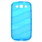 Protective TPU Case for Samsung Galaxy S3 i9300 - Blue