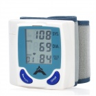 "1.5"" Screen Portable Automatic Wrist Watch Blood Pressure Monitor (2*AAA)"