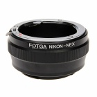 FOTGA AI Lens to NEX Mount Adapter - Black